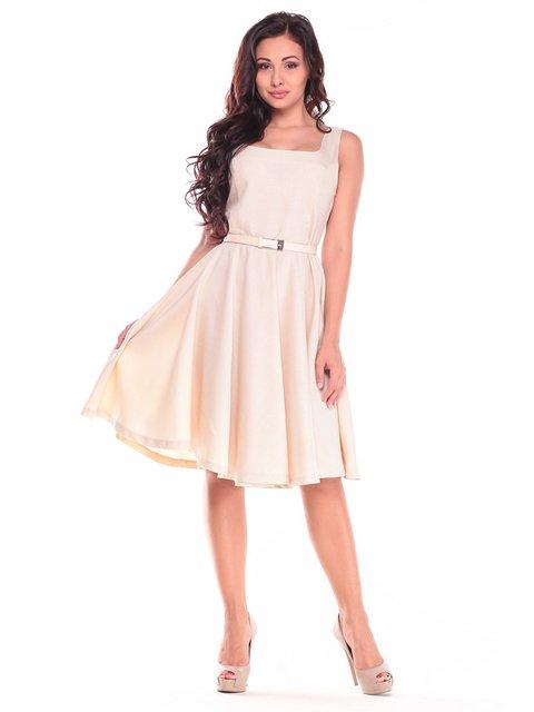 Платье бежевое Maurini 2833510