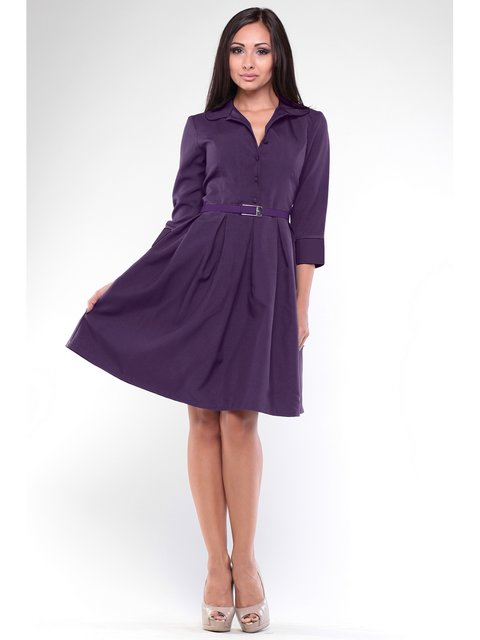 Сукня темно-фіолетового кольору Rebecca Tatti 2833660