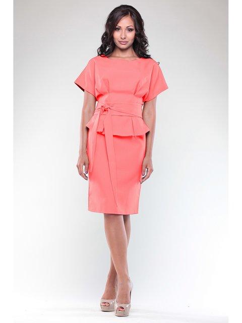 Платье темно-персикового цвета Rebecca Tatti 2833994