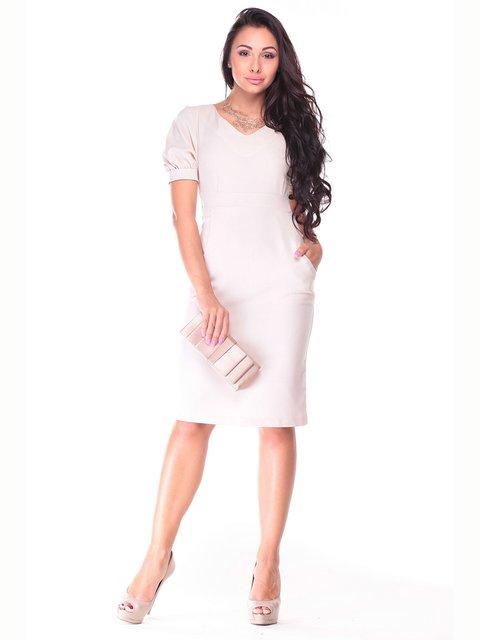 Платье светло-бежевое Laura Bettini 2833866