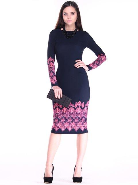 Платье с принтом Dioni 2849568