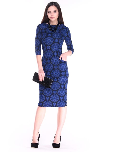 Сукня в принт Laura Bettini 2849561