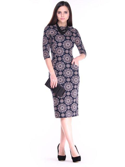 Платье в принт Laura Bettini 2849567