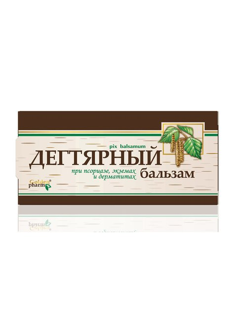 Бальзам «Дегтярный» (50 мл) Голден-Фарм 2861326