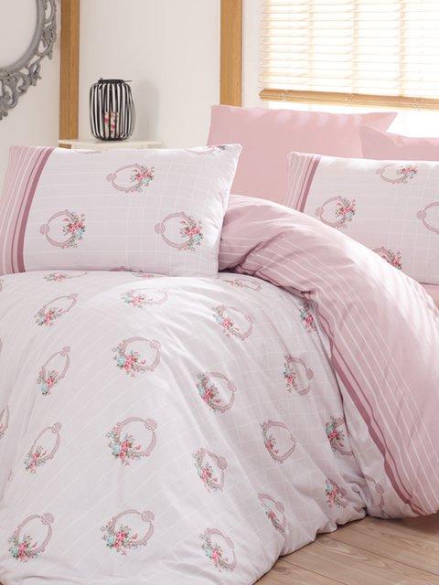Комплект постельного белья двуспальный (евро) Arya 2892625