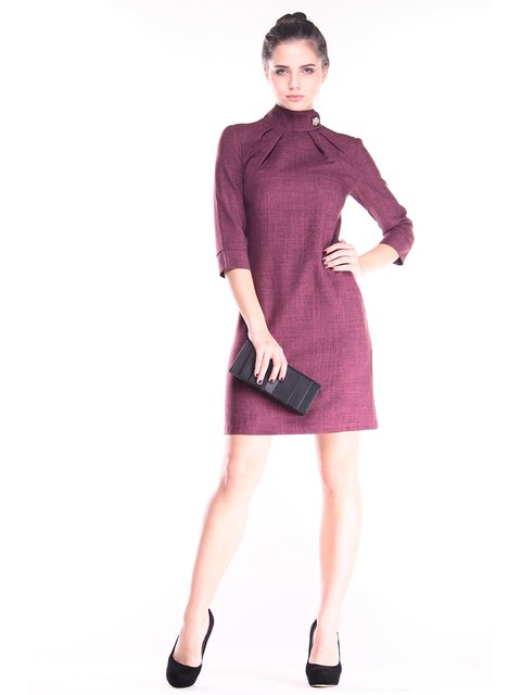 Платье сливовое Dioni 2888232