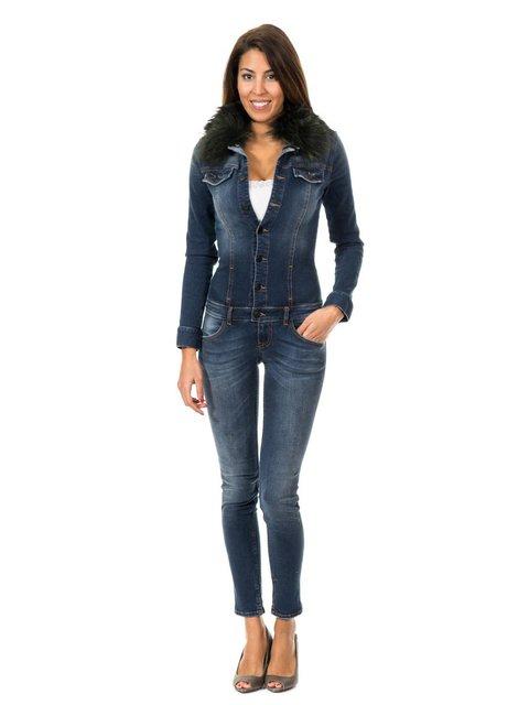 Комбинезон темно-синий джинсовый MET 2906004