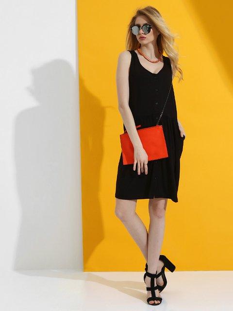 Сукня чорна Dujour Paris 2918492