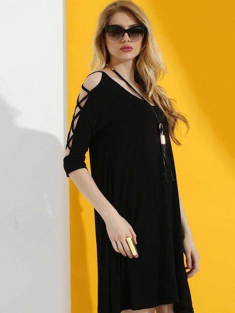 Сукня чорна Dujour Paris 2918548
