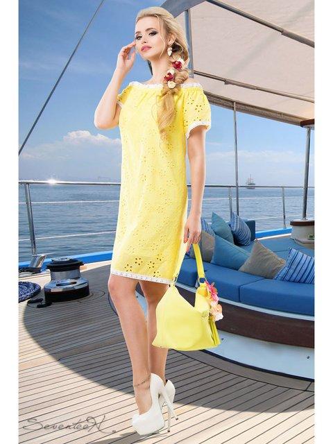 Сукня жовта Seventeen 2428441