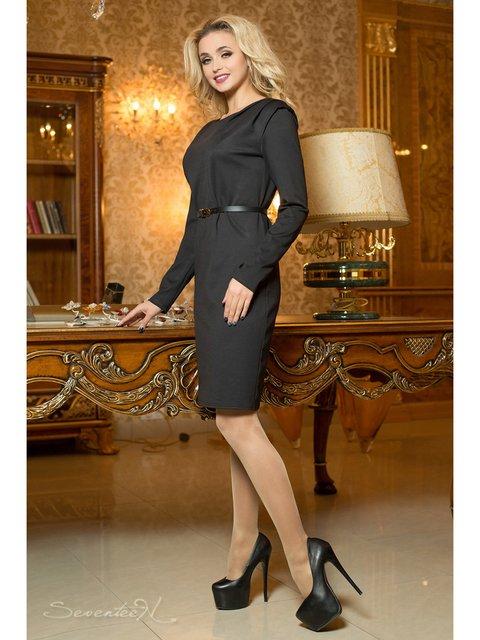 Платье черное Seventeen 2787914
