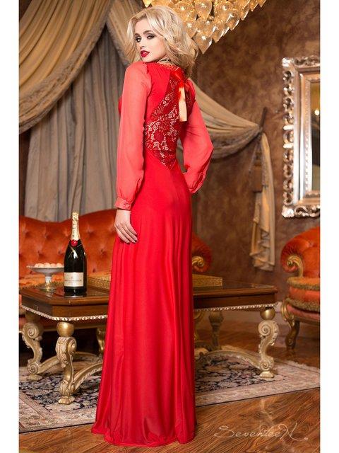 Платье красное Seventeen 2891228