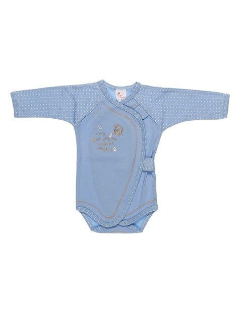 Боді блакитне в горошок Royal Infant 2930008