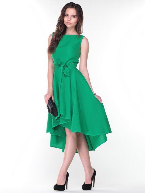 Платье изумрудного цвета Laura Bettini 2933295