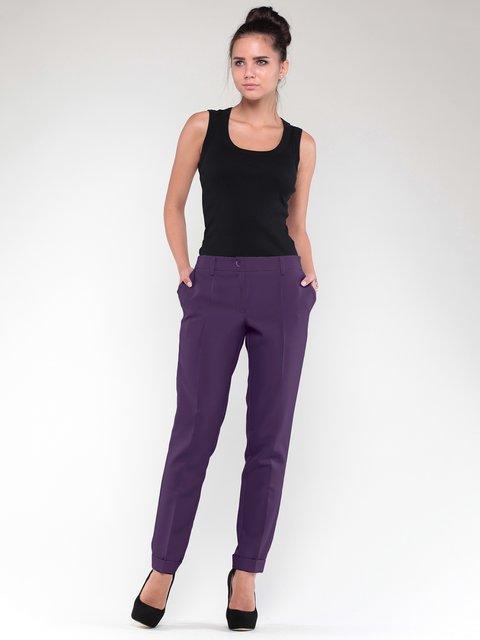 Брюки темно-фиолетового цвета Rebecca Tatti 2933599