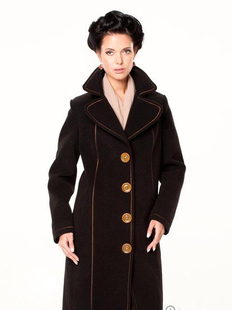 Пальто черное Lesya 2045337