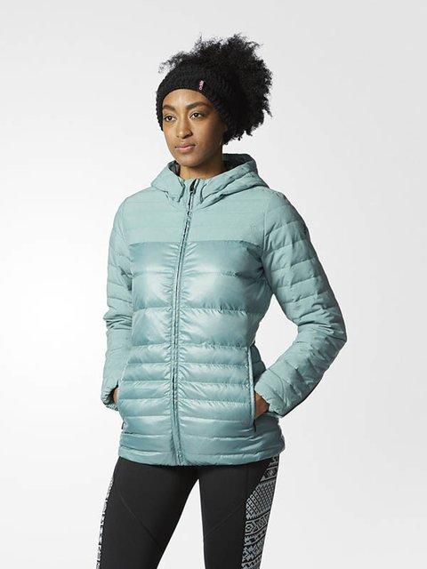 Куртка м'ятного кольору Adidas 2809158