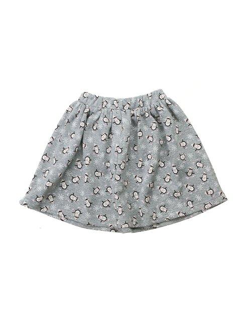 Юбка серая в принт Kids Couture 2914981