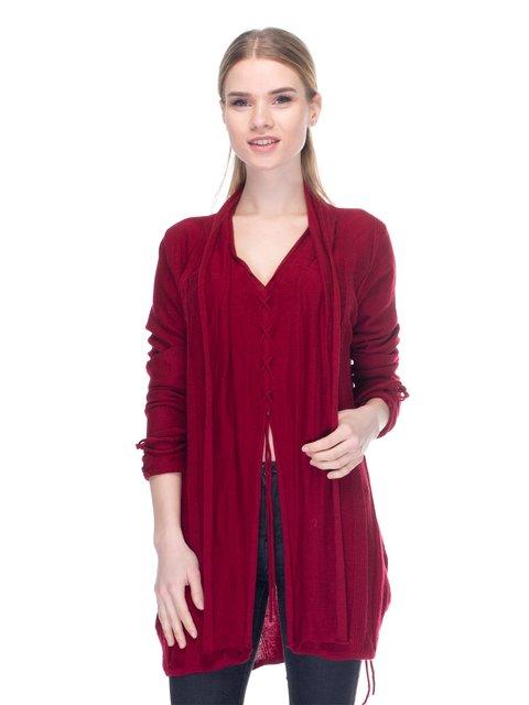 Пуловер бордовый PAUL BRIAL 2946740