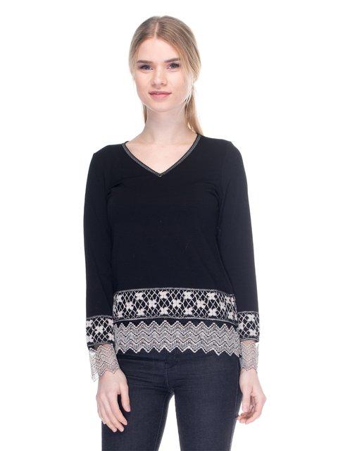 Пуловер черный PAUL BRIAL 2946759