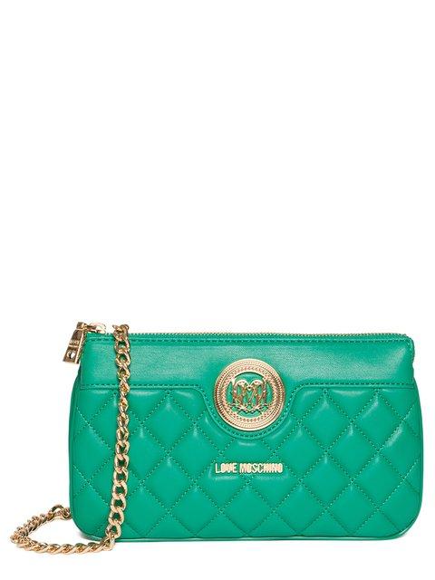 Сумка зеленая Love Moschino 2955653