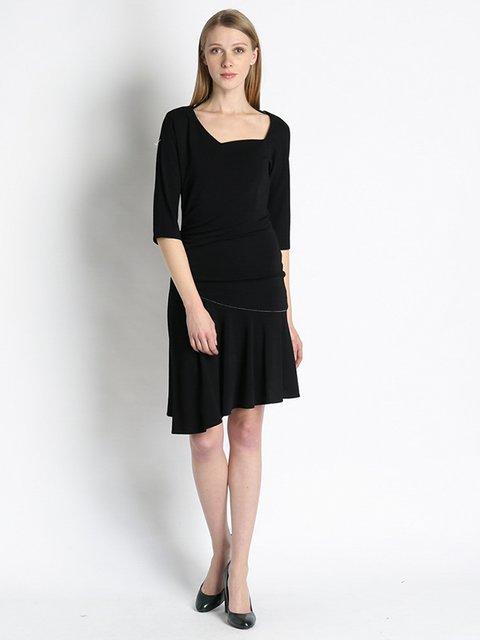 Платье черное Gattinoni 2956201