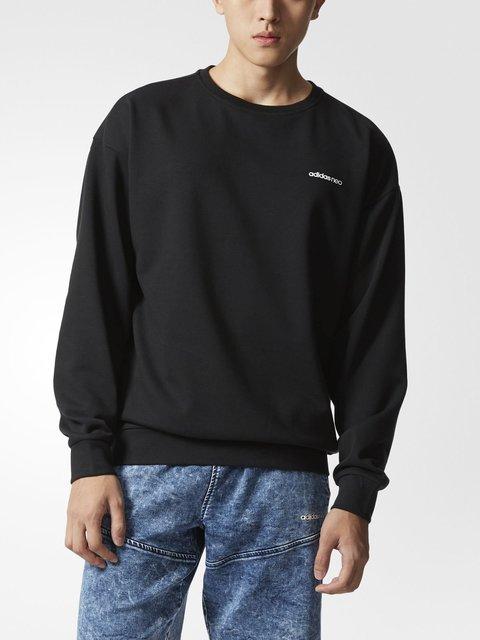 Джемпер черный Adidas 2901016