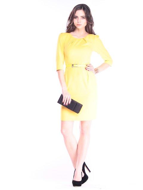 Платье желтое Dioni 2962789