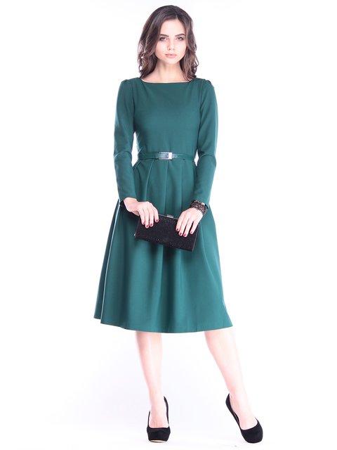 Платье темно-изумрудное Maurini 2962877