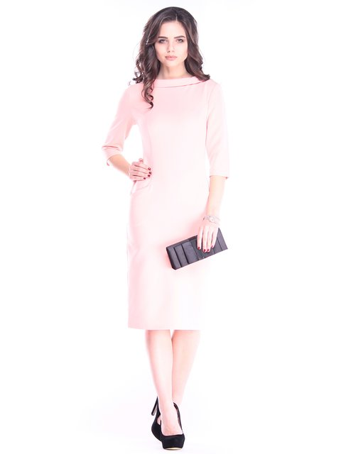 Платье светло-розовое Maurini 2962886