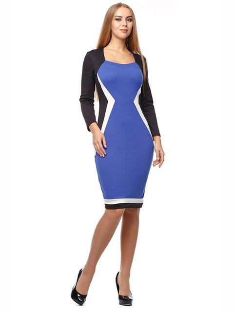 Платье трехцветное Alana 2962921