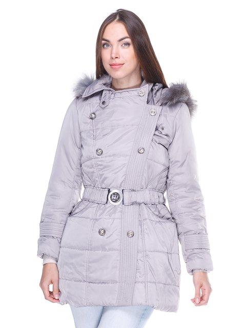 Куртка сіра Мисс мода 2843902