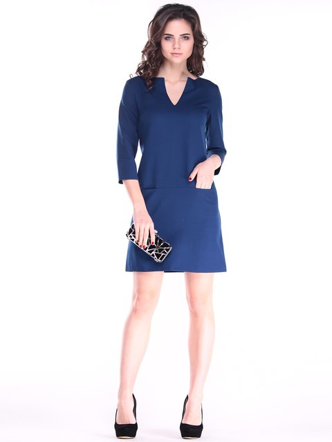 Платье синее Laura Bettini 2870759