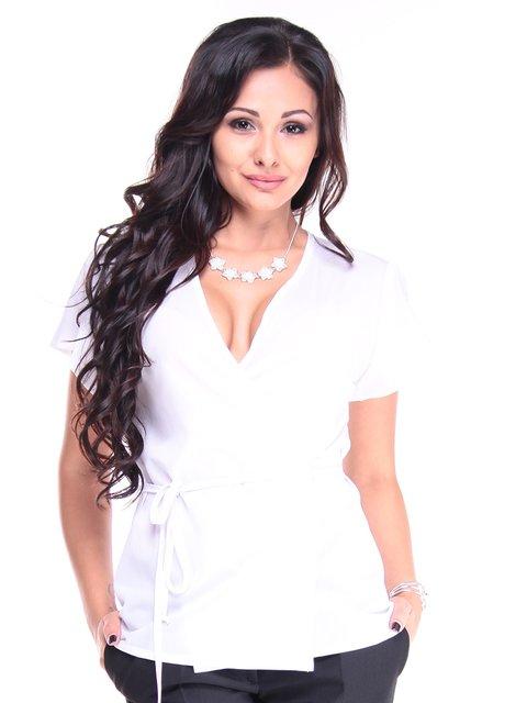 Блуза белая Laura Bettini 2905198