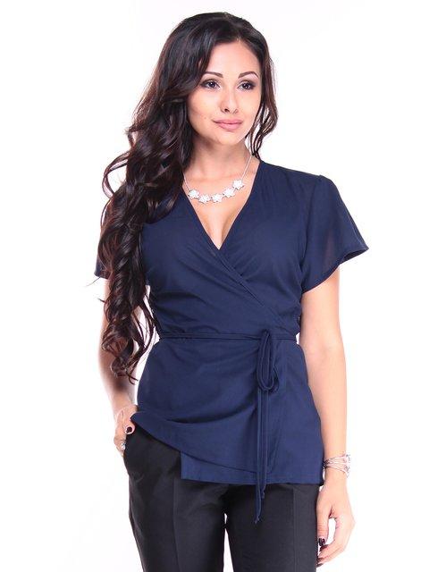 Блуза темно-синяя Laura Bettini 2932657
