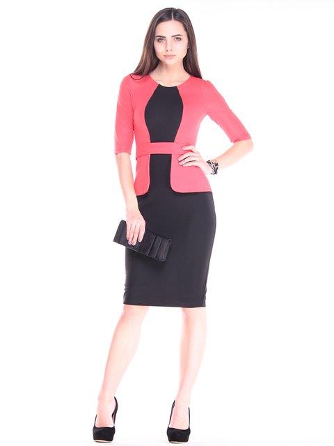Платье черно-красное Laura Bettini 2932659