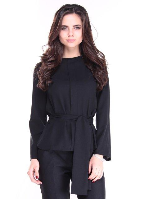 Блуза черная Laura Bettini 2952451