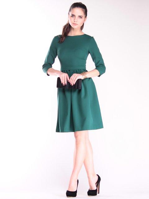 Платье темно-изумрудного цвета Maurini 2844982