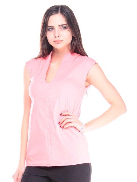 Блуза кораллового цвета Maurini 2918004