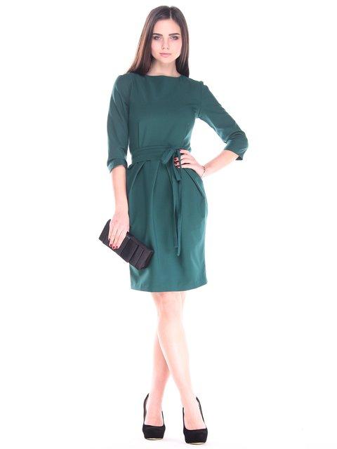 Платье темно-изумрудное Maurini 2918014