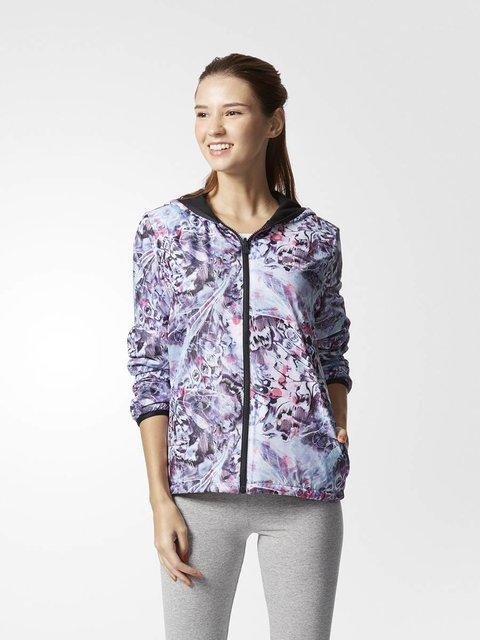Ветровка абстрактной расцветки Adidas 2977991
