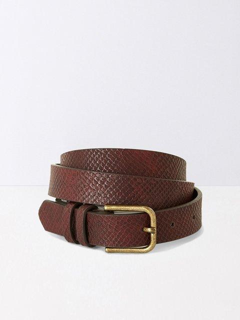 Ремінь коричнево-бордовий Promod 2990357