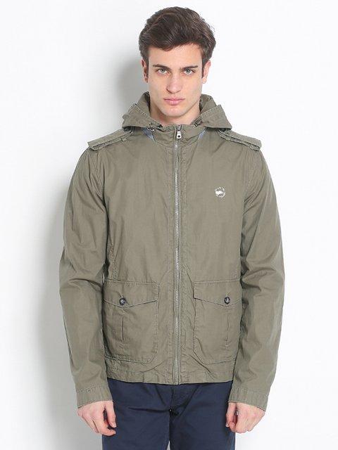 Куртка зеленая Gas 2308137