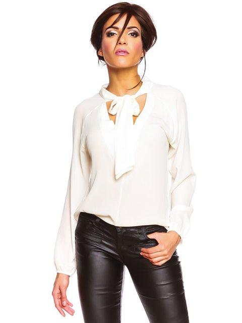 Блуза біла la belle française 2993715