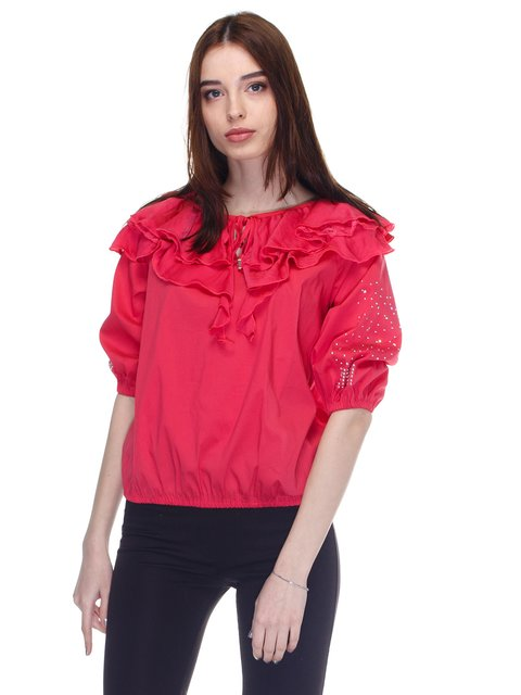 Блуза рожева JUST-R 2645141