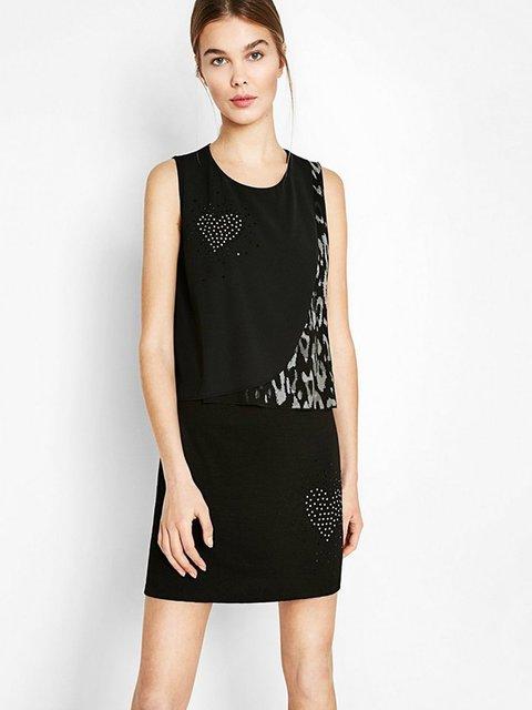 Сукня чорна Desigual 2933185