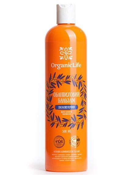 Бальзам облепиховый «Увлажняющий» (500 мл) Organic Life 2999458