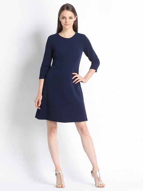 Сукня темно-синя Sandro Ferrone 2652341