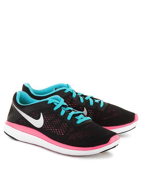 Кроссовки черные Flex 2016 Rn Nike 2989572
