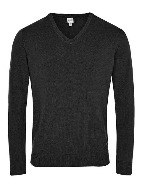Пуловер черный Armani Collezioni 2779138